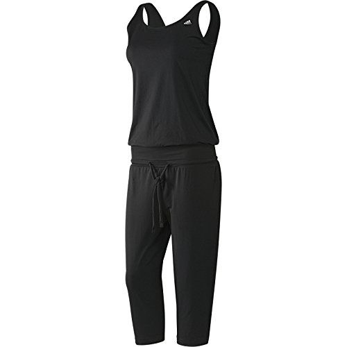 Adidas Womens Studio Pure All In One Exercise Fitness Jumpsuit
