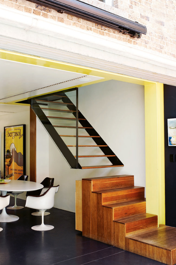 Captivating Modern Staircase · Terrace House