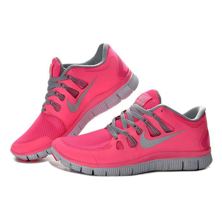 best service db78f 16d9d Damen Nike Free Run 5.0+ Rosa Grau - - €62.65
