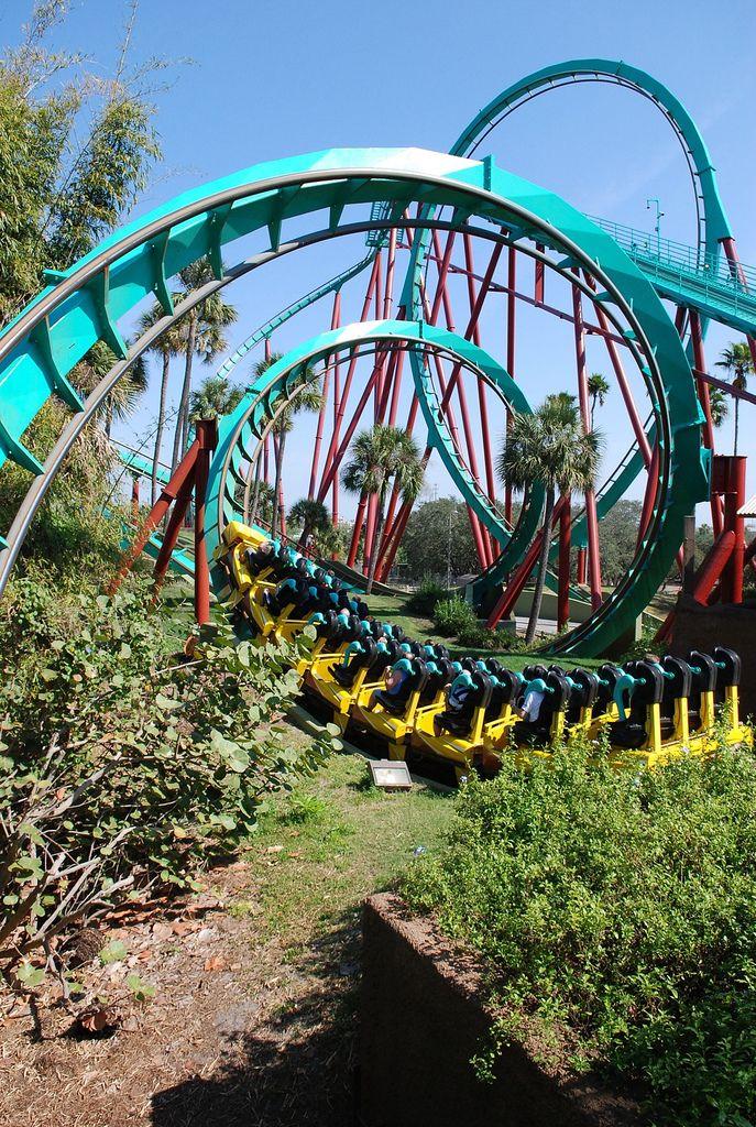 How Far Is Busch Gardens From Universal Studios