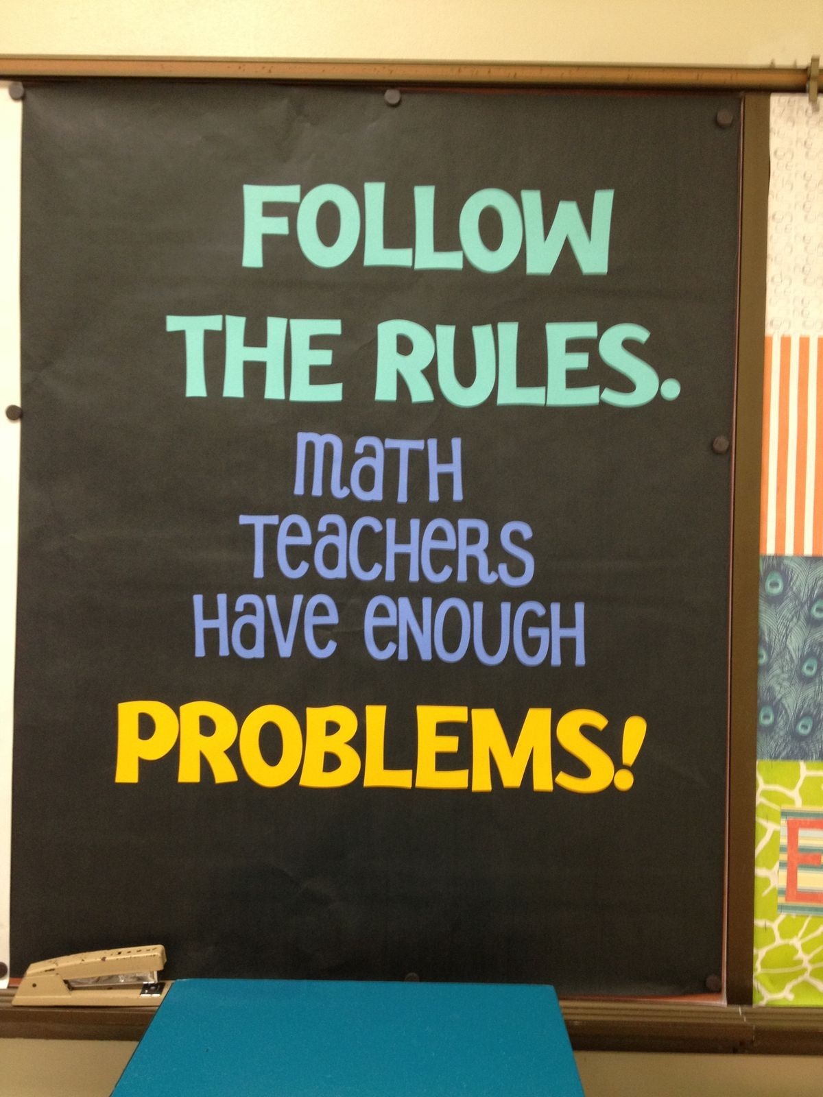 Pin by Stacey Purlee on EWMS | Math classroom decorations