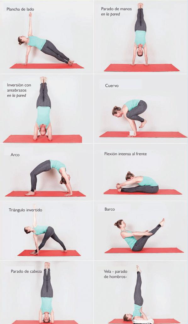 Guia De Posturas De Yoga Para Principiantes Con Imagenes Posturas De Yoga Posturas De Yoga Para Principiantes Yoga Principiantes