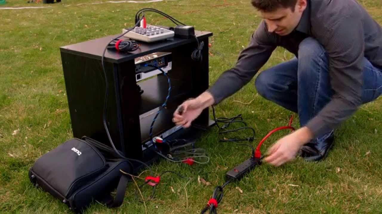 Inflatable Outdoor Cinema How To Setup Amp Takedown