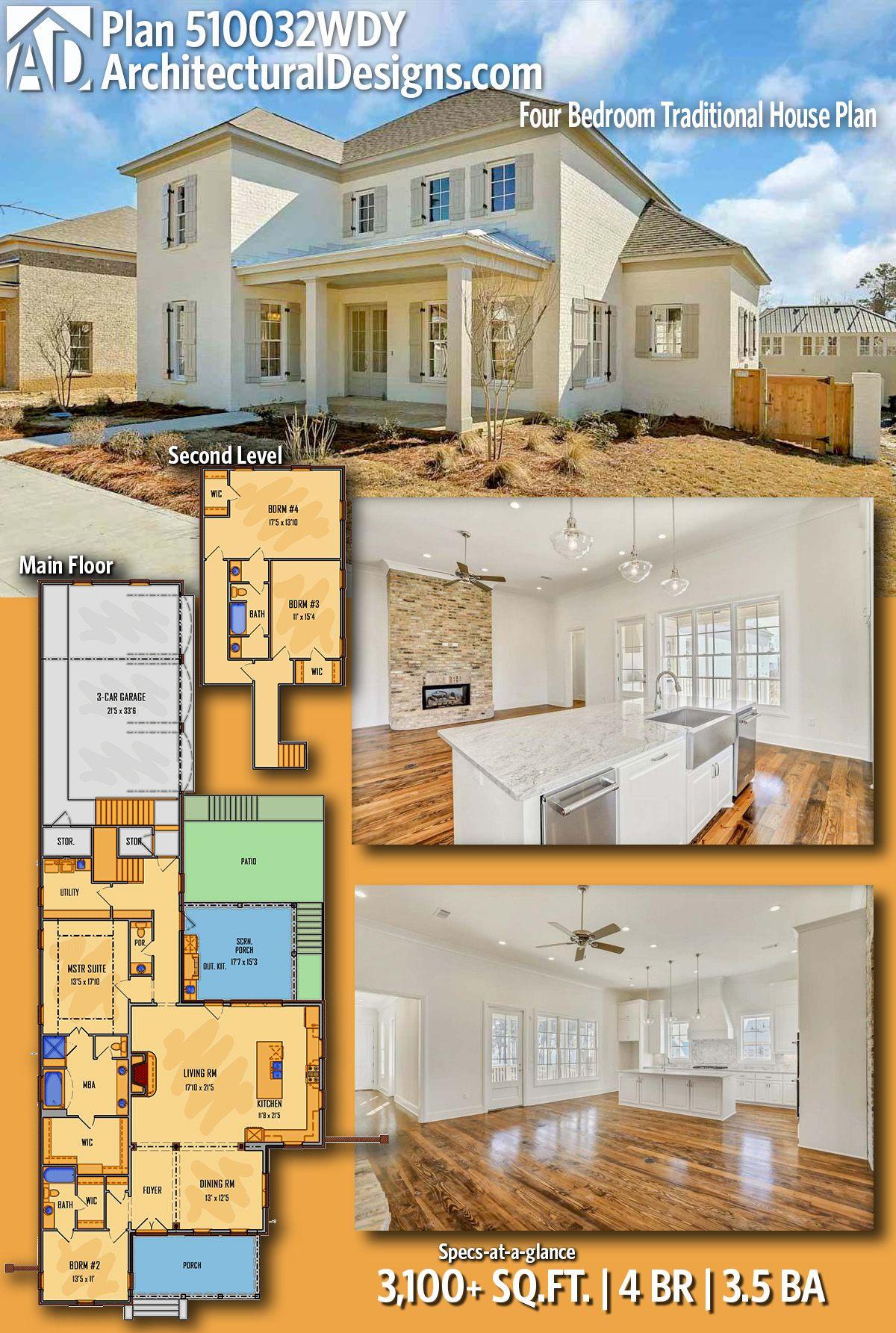 Architectural Designs House Plan 510032WDY 4