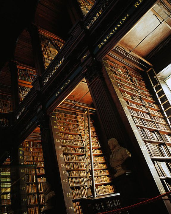 Trinity Library in Dublin -- love this place.