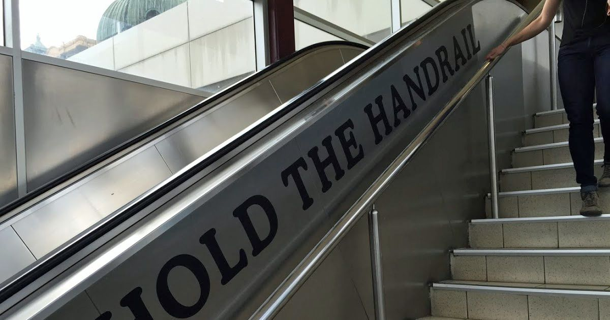 Best Hold The Handrail Great Advice Ada Compliant Walkway 400 x 300
