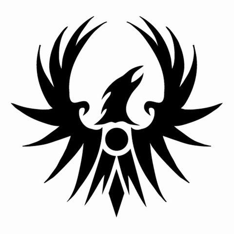 Phoenix Rising Decal Sticker, bird decals, animal stickers, pet ...