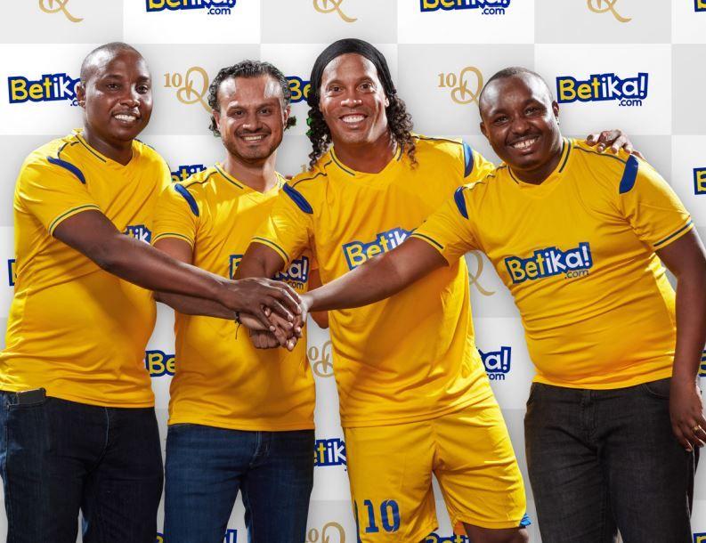 Kenya's Betika signs Ronaldinho Nigerian, Kenya, Sports