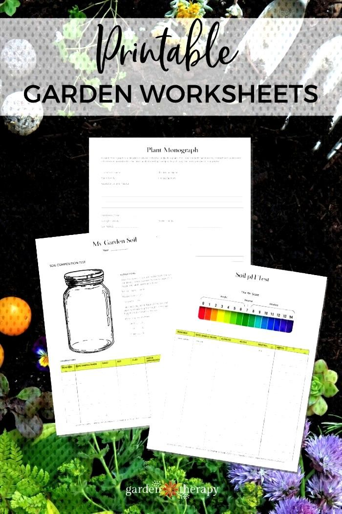 Pre-Order Bonus: Garden Alchemy Workbook - Garden Therapy The Garden Alchemy Workbook is full of pr