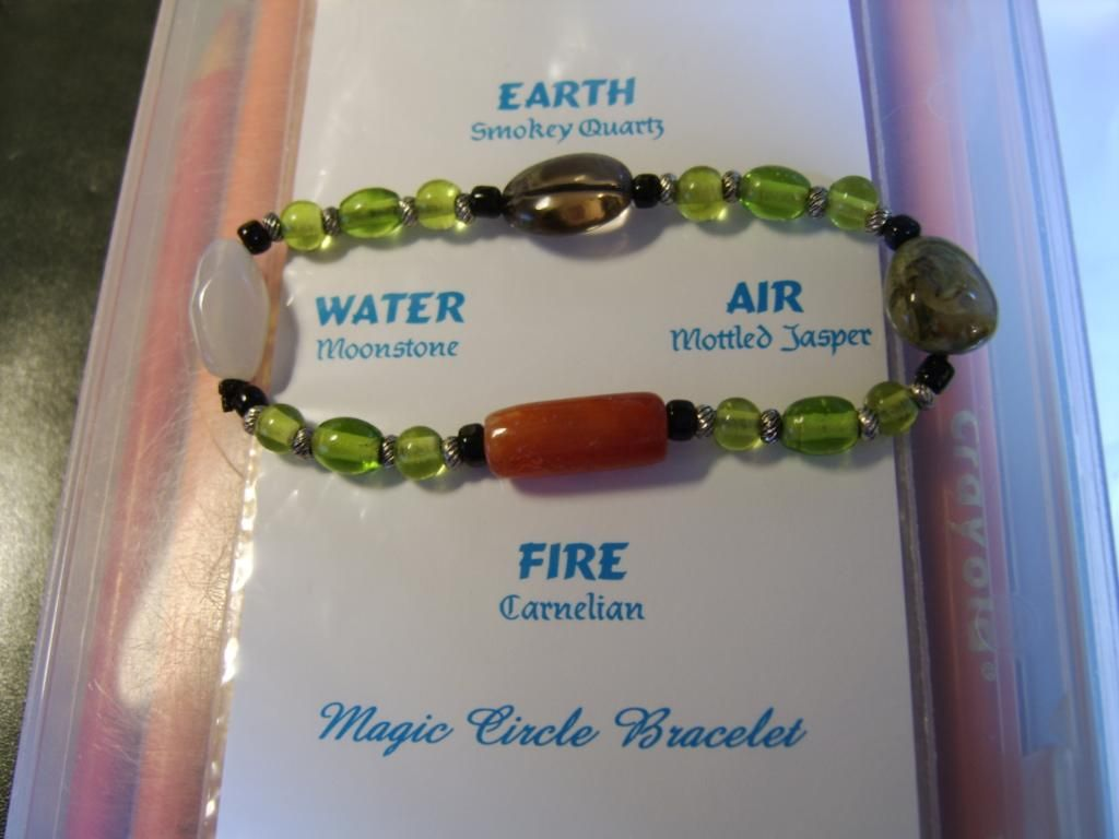 Magic Circle Bracelet Witch Witchy Craft Inspiration Pagan Wiccan
