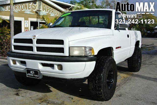 From Work To Weekends This White 1997 Dodge Ram 1500