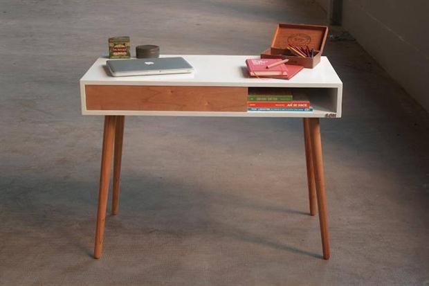 Escritorios modernos para tu rincón de trabajo muebles Pinterest