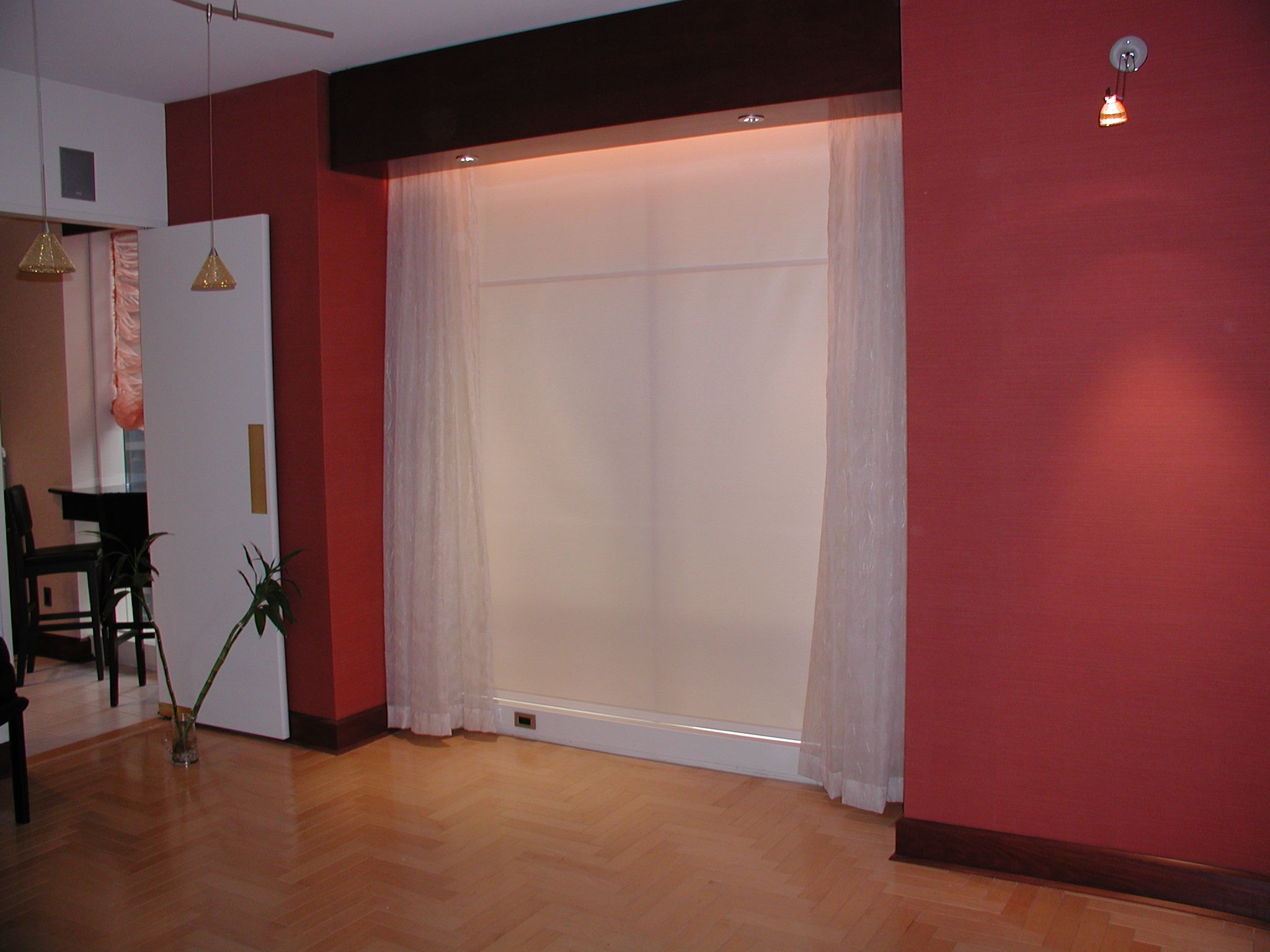 Interior photo of V-lonne Drapery Project #windowtreatments #interiordesign #curtains
