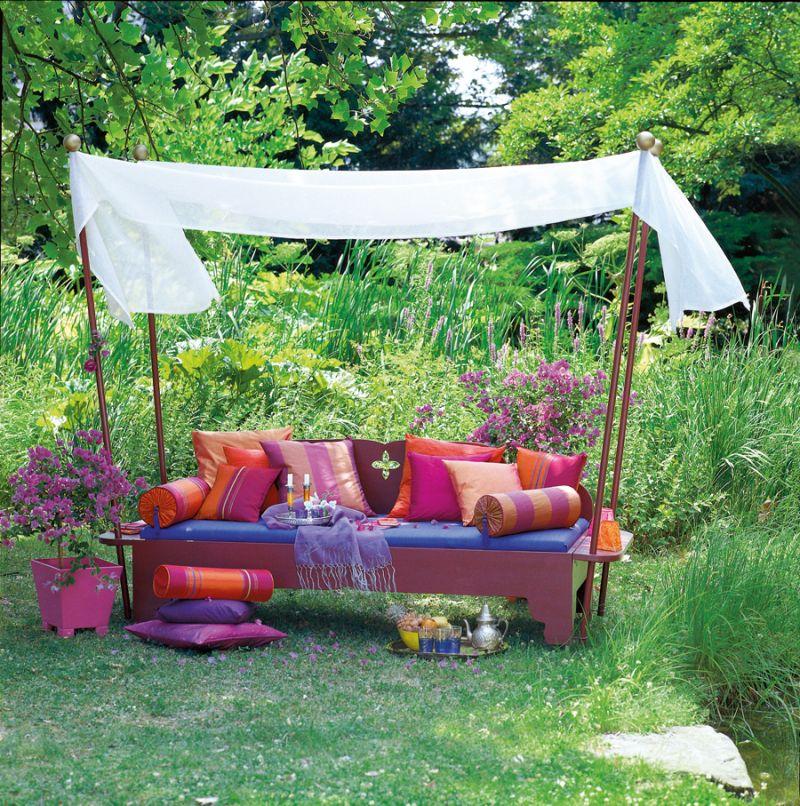 orientalische sitzecke im garten garten garten orientalische sitzecke und garten ideen. Black Bedroom Furniture Sets. Home Design Ideas