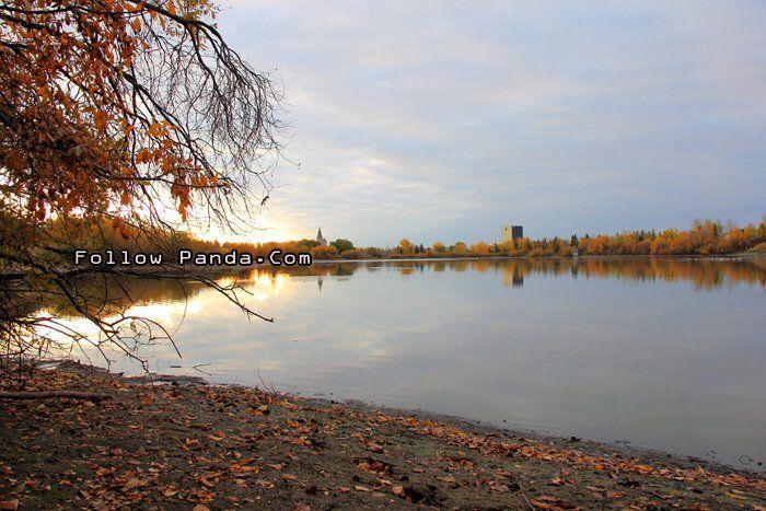 Muskoseepi Park Autumn Sunrise on Thanksgiving Weekend - Grande Prairie, Alberta, Canada   FollowPanda.Com