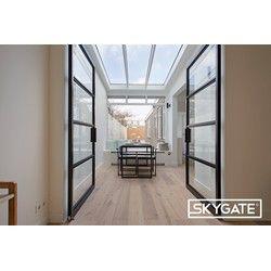 Double steel door (Left) – 3000x1859mm – Skygate – Door