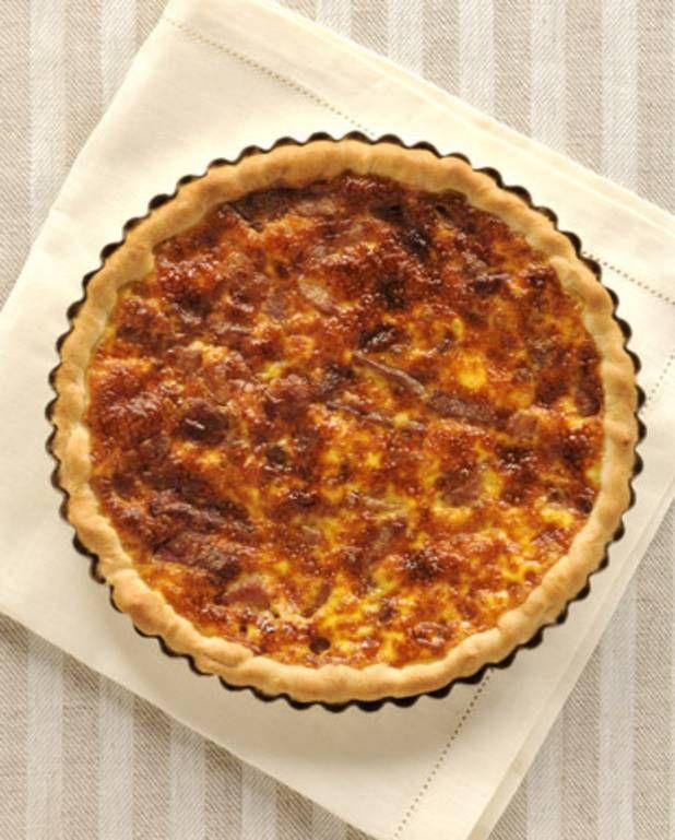 quiche lorraine classique recette cuisine traditionnelle french food pinterest quiche
