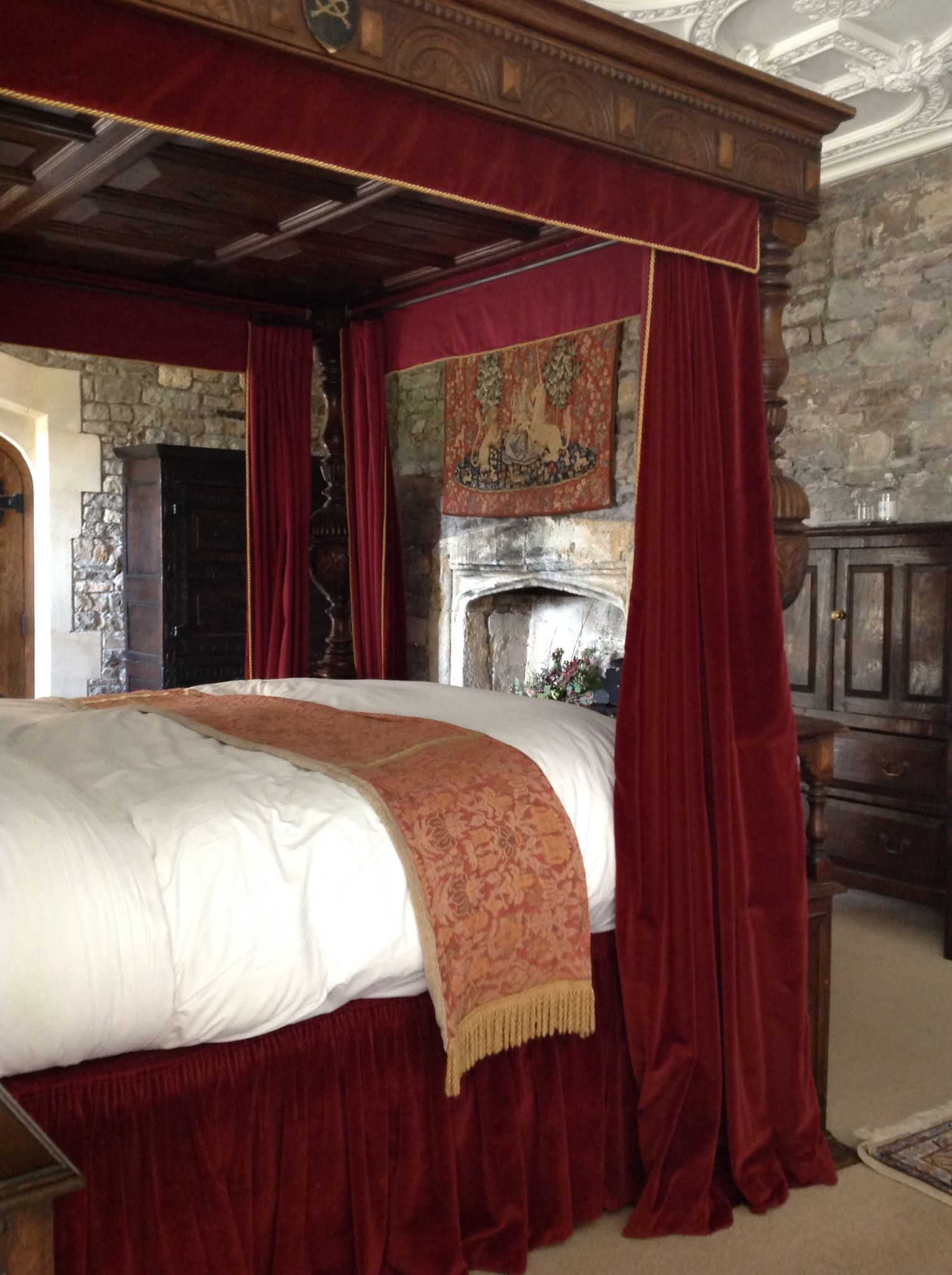 Thornbury Castle Howard Suite Castle Where Henry Viii And Anne