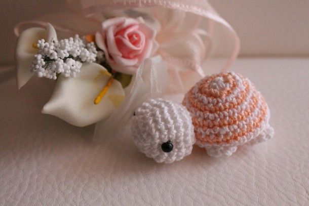 Tartaruga Amigurumi Schema Gratis Uncinetto Bomboniera Free Crochet