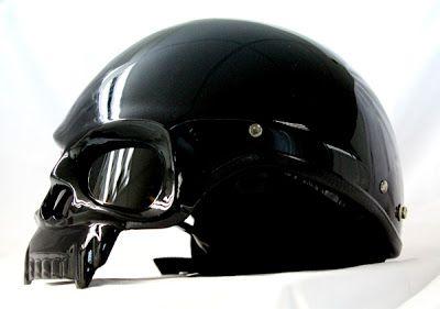harley davidson skull helmets | ... Helmet Blog News: Masei 419 Skull DOT Helmet for Harley Davidson