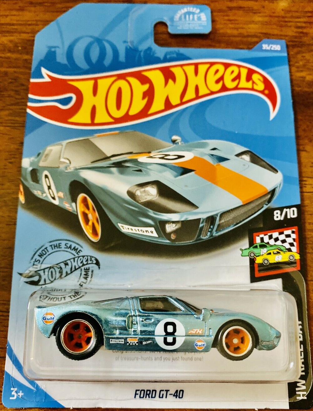 2020 Hot Wheels Super Treasure Hunt Ford Gt 40 Gulf Tampos In