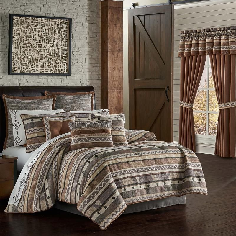 Timber Linen 4Piece Comforter Set in 2020 Comforter