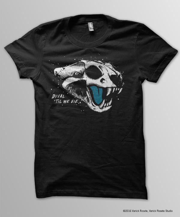 pretty nice 7ca11 27f27 NFL Jacksonville Jaguars Men's Duval 'Til We Die T-Shirt ...