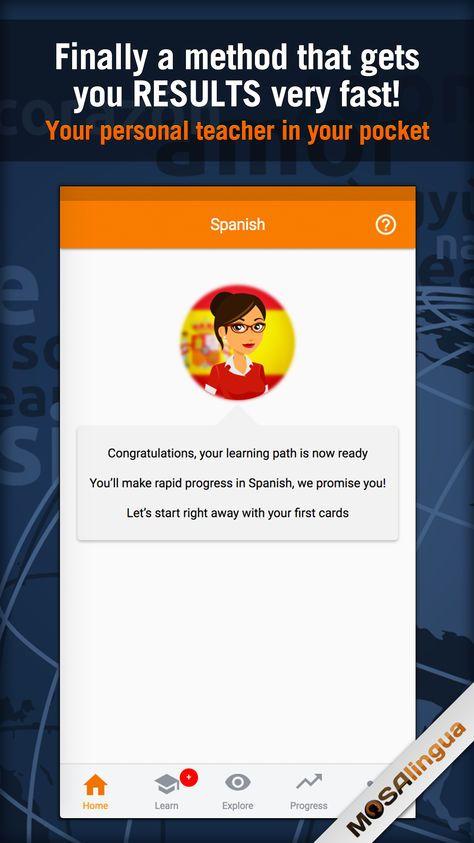 [iOS] Learn Spanish MosaLingua (4.99 to Free) Apps