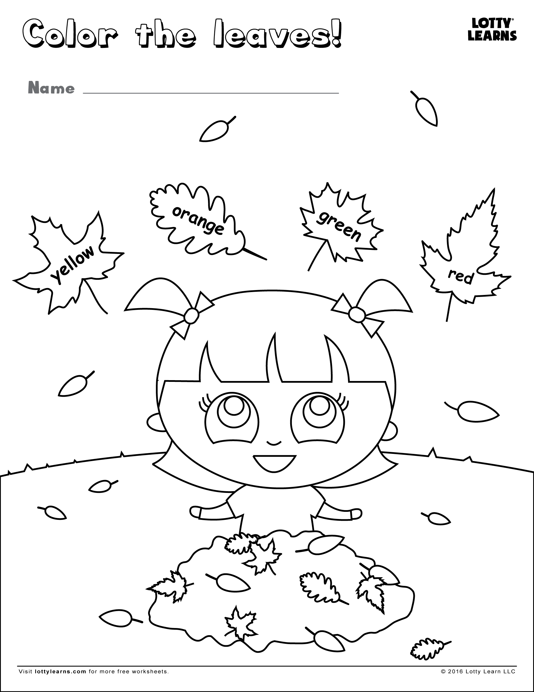 Color The Leaves