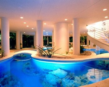 Houses With Indoor Pools the pool inside my house | indoor pools | pinterest | indoor pools