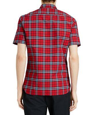 926e2a1b05fd Burberry Alexander Check Short-Sleeve Sport Shirt