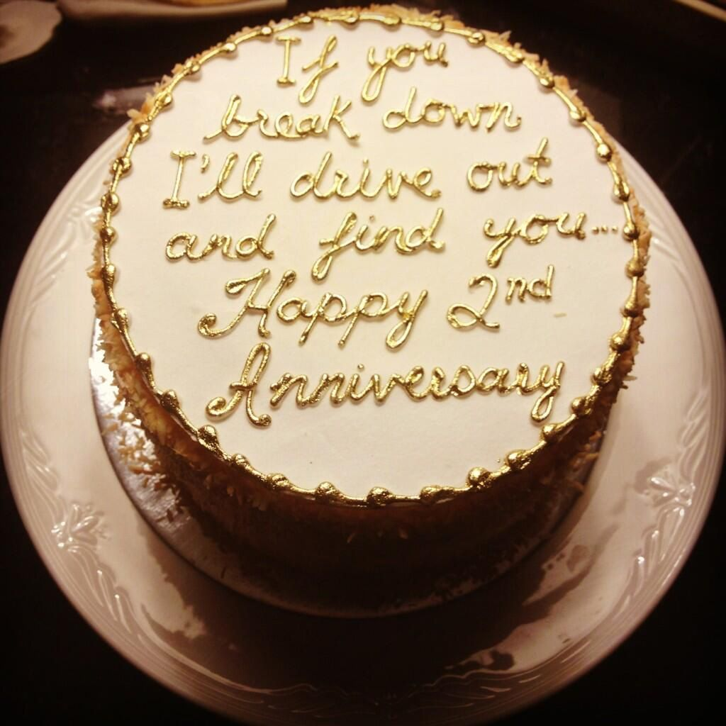 Funny anniversary cake quotes - Frosting Marriage Anniversary Cakesecond