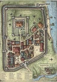 Image Result For Greenest Keep Map Small Towns Fantasy City Map