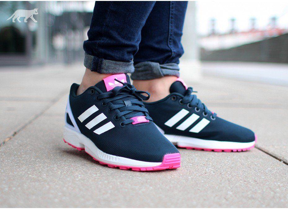 Adidas Flux Damen Schwarz Pink