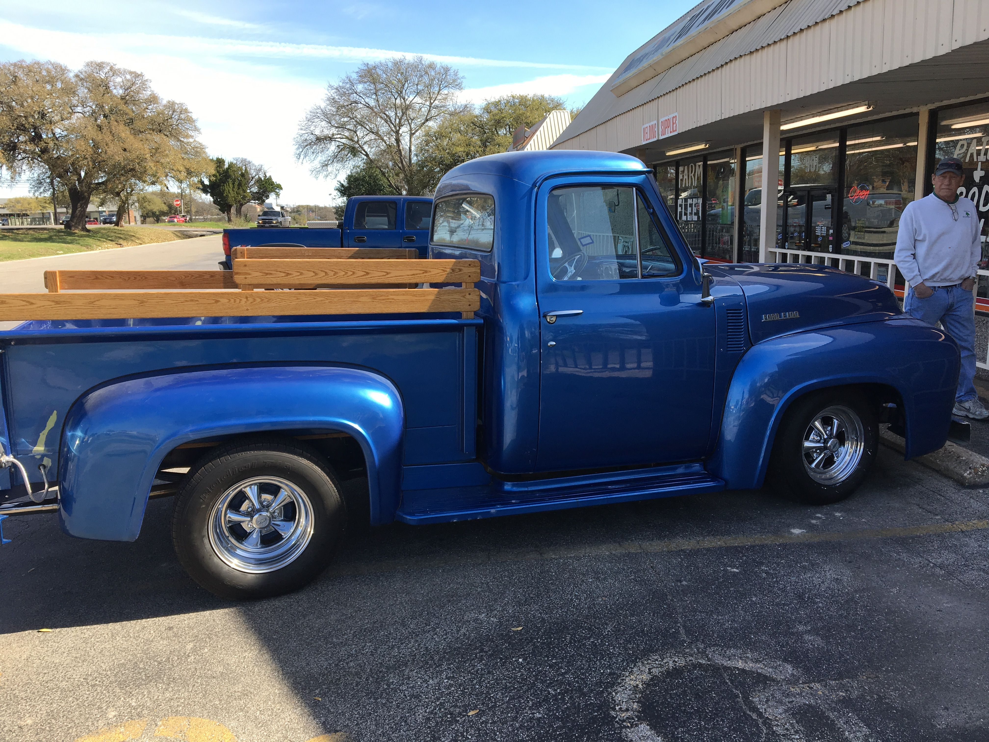 Mid 50's Ford F-100 | Georgetown Fox Auto Parts Customer Rides