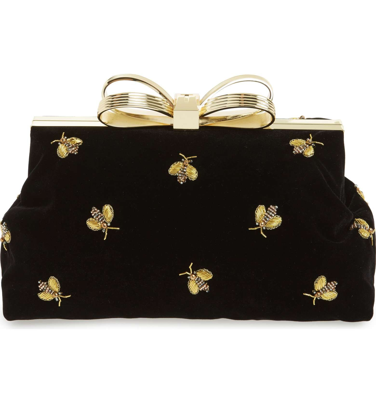 0bbd789161d423 Ted Baker bee clutch