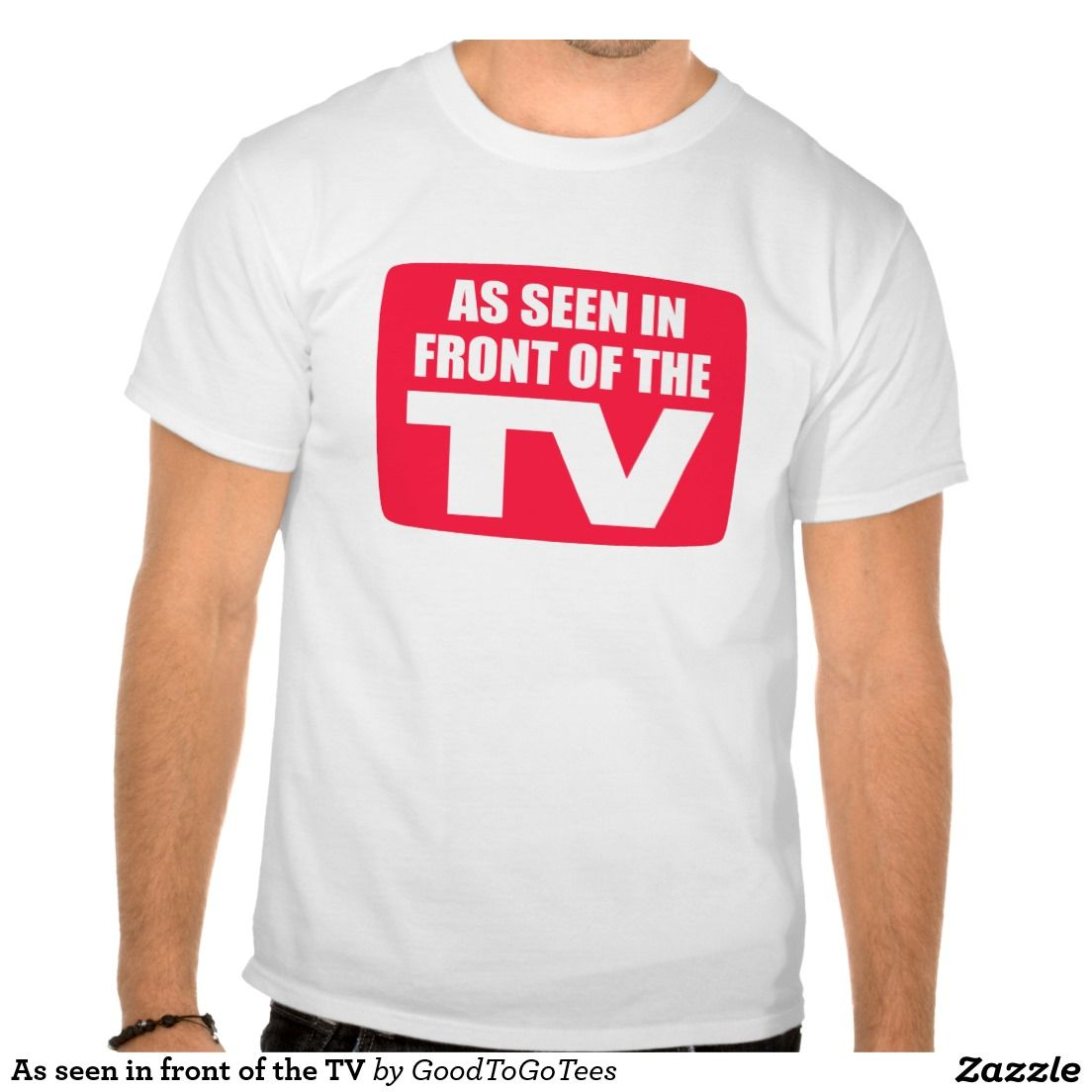 As seen in front of the TV Tee Shirt