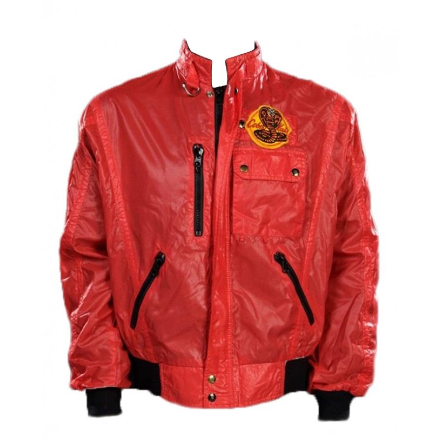 Cobra Kai Jacket Special Discount Offer Karate Kid Cobra Kai Shirt Red Jacket [ 900 x 900 Pixel ]