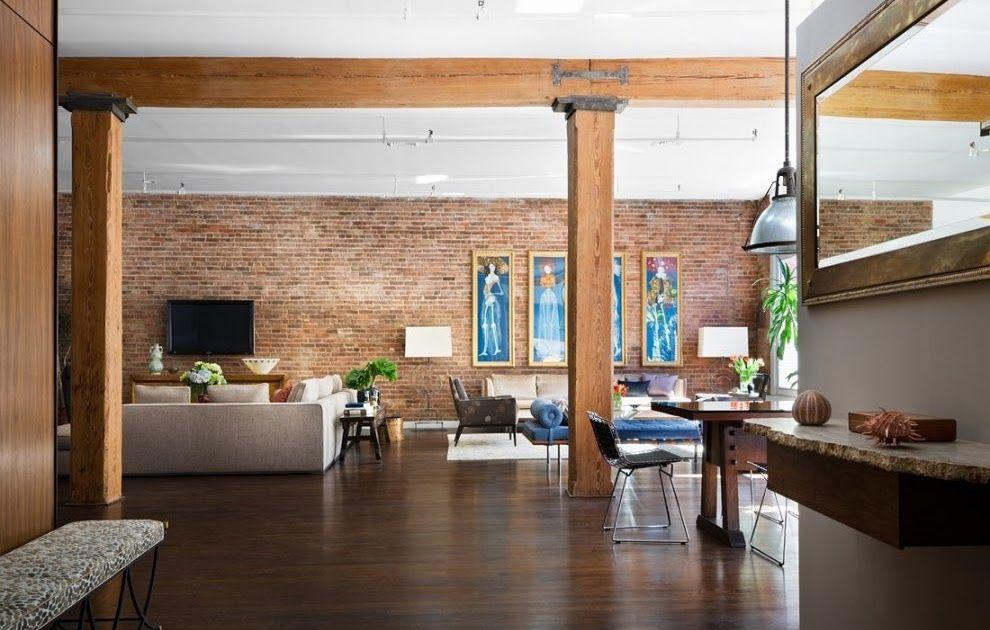 Brick Wall Studio Apartment Inspiration Bedroom Open Floor Plan Ideas With Fabulous Images Floor Plans In 2020 Modern Loft Apartment Loft Interior Design Modern Loft