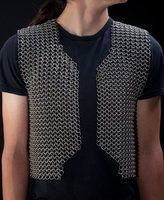 Chainmaille Vest - Front by ElizaFish