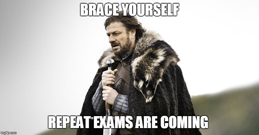 exams are coming