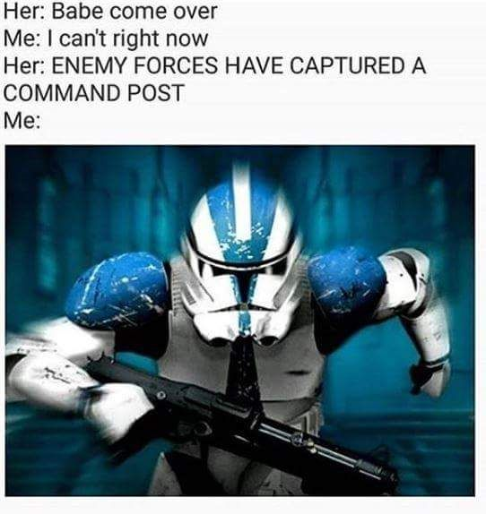 1 My Dump When I See Star Wars Battlefront Ii Is Only 2 49 On The Steam Sale Imgur Star Wars Memes Funny Star Wars Memes Star Wars Humor