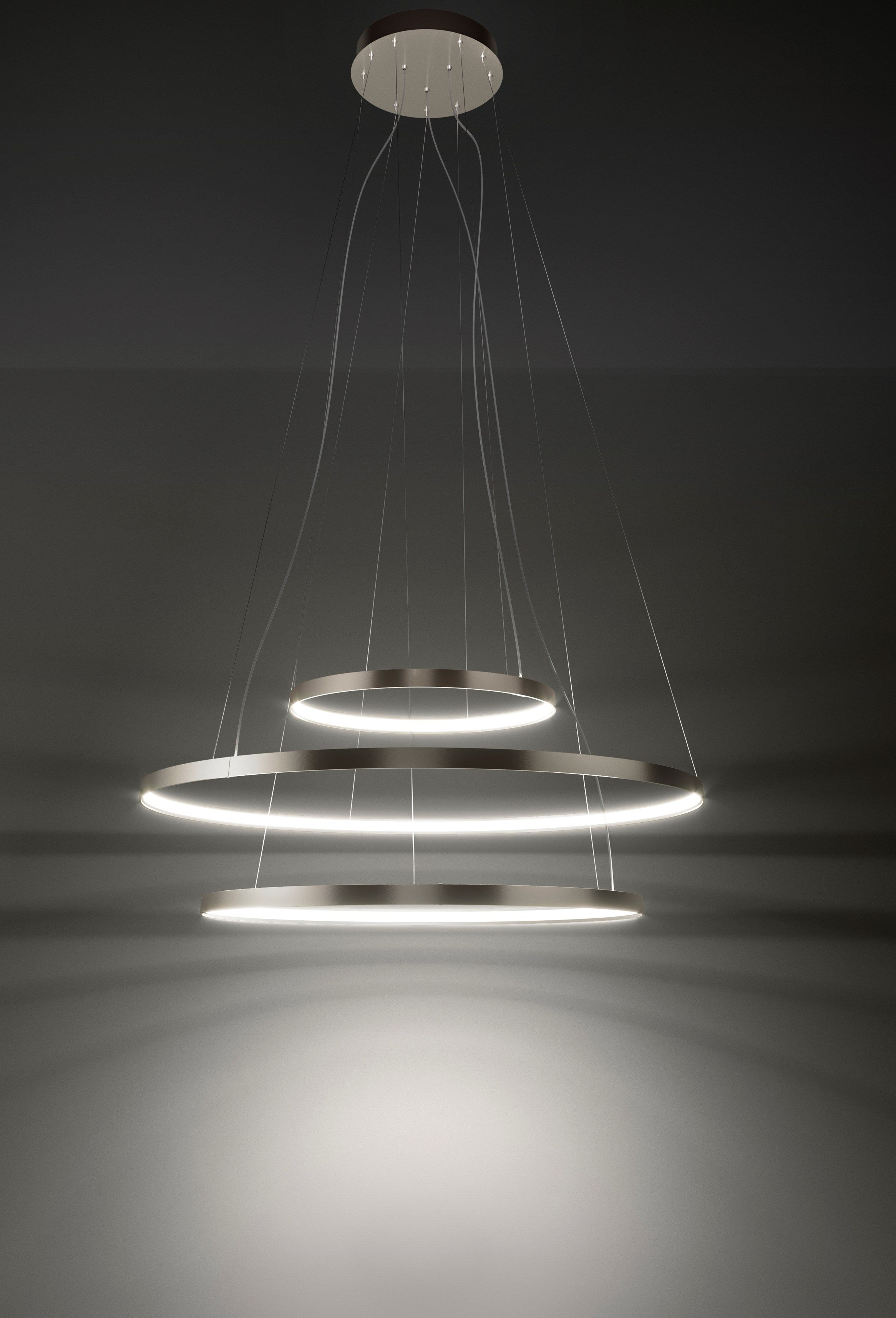 Led Pendant Lamp Zero Round By Panzeri Let There Be Light