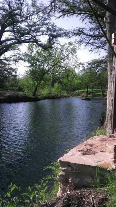 Cypess Creek in Texas hill country, spent many hours here relaxing and reflecting
