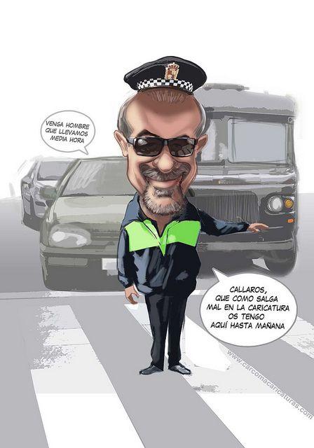 #carcoma #caricaturas #trabajo #policiamunicipal