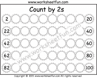 skip counting by 2 count by 2s 2 worksheets skip counting skip counting counting by 2. Black Bedroom Furniture Sets. Home Design Ideas