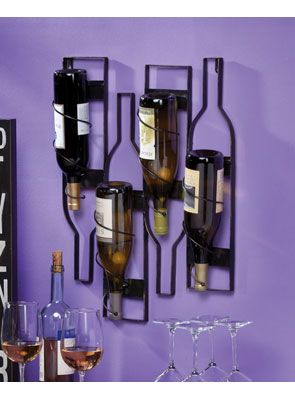 Wall Mounted Wine Bottle Holder Wall Mounted Wine Rack Rustic Wine