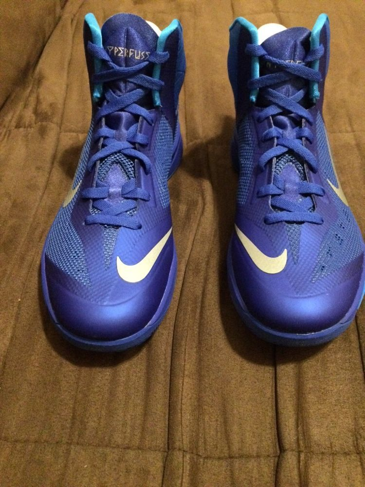 meet 7c9f4 c626d NIKE Zoom hyperfuse mens size 9.5 brand new still in box purple color   fashion  clothing  shoes  accessories  mensshoes  athleticshoes  ad (ebay  link)