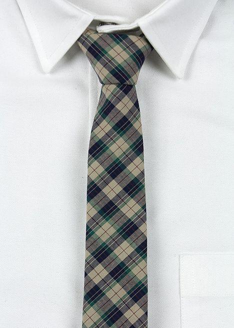 Blackbird Plaid Tie $68
