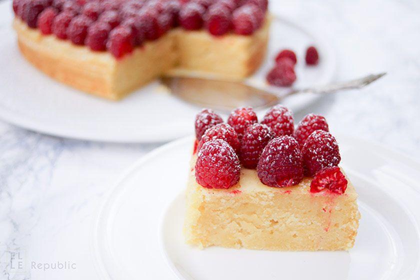 Zitronenkuchen Mit Viel Herz Rezept Torten Kuchen Pinterest